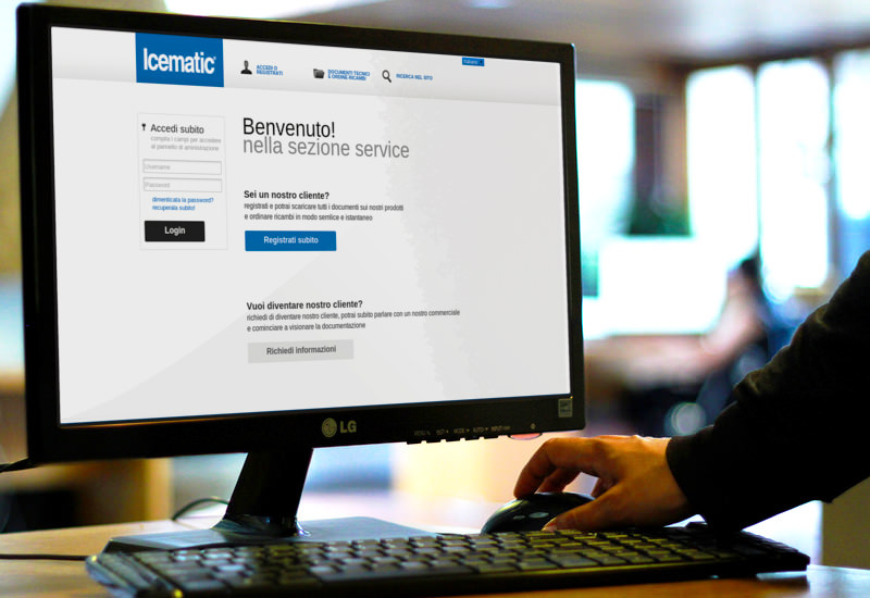 Guarda il progetto: e-commerce Icematic
